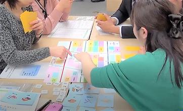 インターンシップ・採用選考で活用できるグループワーク教材です
