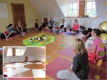 ProYoBi - Ausbildungsseminar im Seminarort Neu Meteln / Mecklenburg