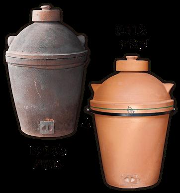 1950年代前後に製造を中止した伝統的な蒸しかまどを、㈲小田製陶所が2012年に復刻