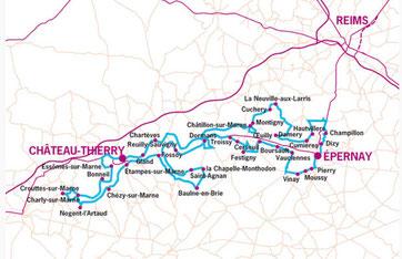 Route Touristique du Champagne Cyclee