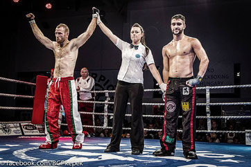 Niederlage im Profikampf 2014 gegen Rivalen Gabor Görbics