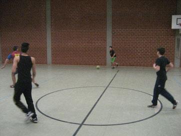 Prima Ballführung: Die beiden siebten Klassen zeigten tolles Spiel