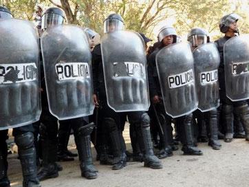 Guatemalas berygtede riotpoliti