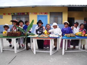 SchülerInnen von Cisol während der Kulturwoche 2010