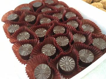 見た目も綺麗なチョコレート