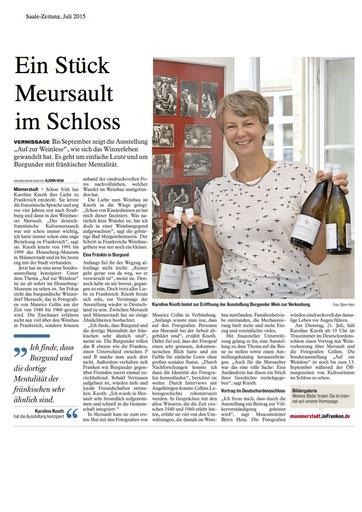 Karoline Knoth - ambassadrice des vins de Bourgogne
