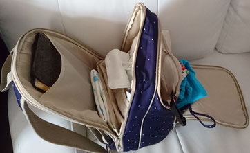 Wickeltasche Wickelrucksack wickeln Rucksack Stoffwindeln unterwegs Stoffwindel Ausstattung