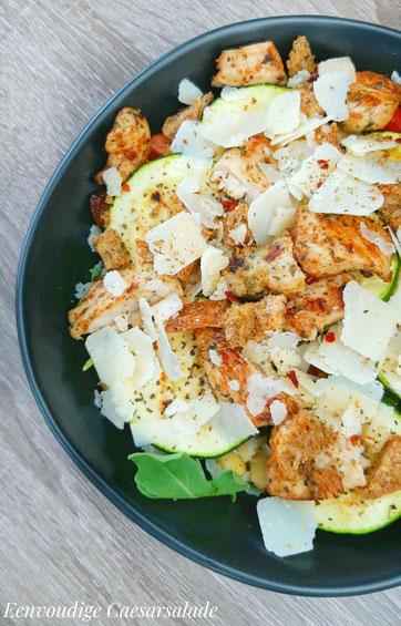 Eenvoudige Caesarsalade