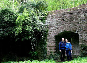Inmitten der Ruine Liebeneck