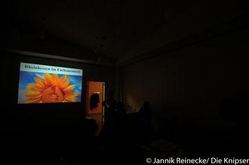 Gerd Brzoska während seiner Einleitung in den von ihm gehaltenen Vortrag