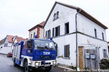 Das THW-Worms war in Mettenheim im Einsatz
