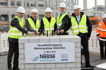 Fotos: Nestle Osthofen