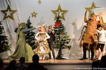 Zum ersten Mal konnten auch Kinder ihre märchenhafte Schauspielerei bei der TGO auf der Bühne präsentieren.