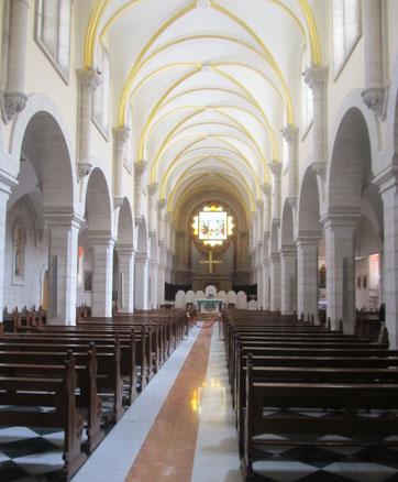 Внутри Церкви Св. Екатерины