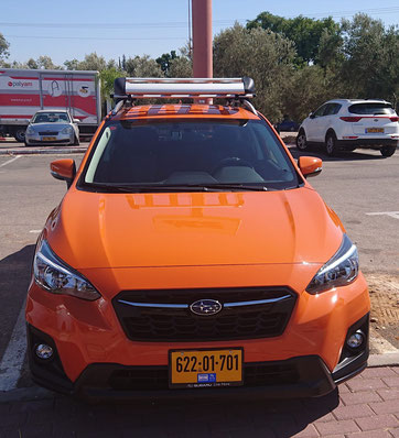 Subaru XV Premium, maximum 4 passengers