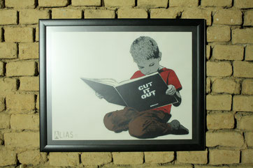 Ein Street Art Bild von Alias