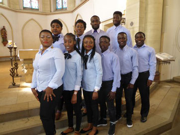 Sacred Heart Gospel Singers (Foto: Mamfe Charity)