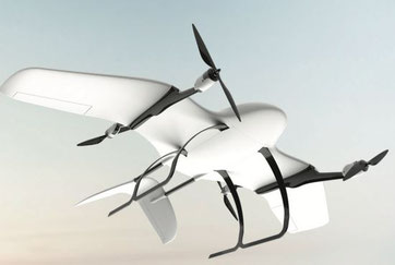 Wingcopter is patent holder of tilt rotor mechanism, enabling their UAVs vertical and horizontal flights