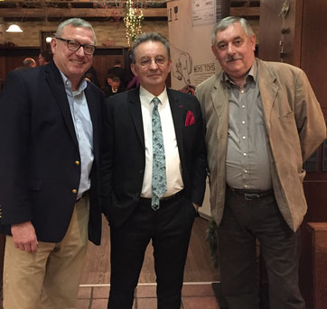 From l > r: Hans-Georg Emmert MD FCS / Olivier Bijaoui President & CEO WFS / Yves Pinoy Snr.VP Europe WFS
