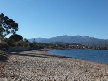 Saint Florent plage de Tettola