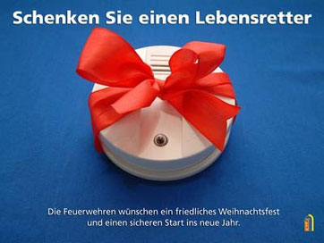 Schenken sie einen Lebensretter (Bild: Deutscher Feuerwehrverband)