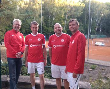 Foto v.l.: Marko Dropp, Steffen Zumpe-Völkel, Volker Kruppa, Carsten Knobbe