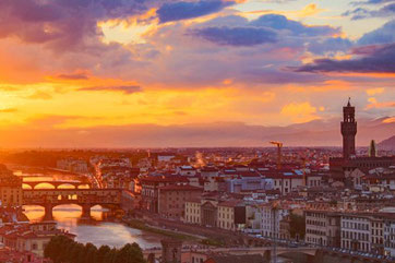 Florenz, Toskana, Überblick, Aussicht, Italien