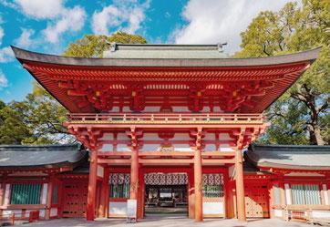 武蔵一宮氷川神社(埼玉県).