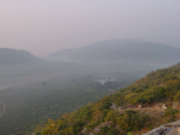 The land overlooking Mt. Sacred Eagle