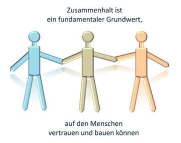 Zusammenhalt ist ein fundamentaler Grundwert