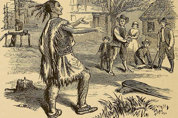 Thanksgiving, first feast with indians