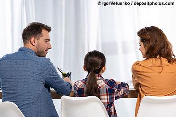 Entwicklungsgespräche mit Eltern
