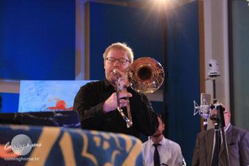 Markus Lenzing, 1. Posaunist und Flügelhorn bei Coming Home TV