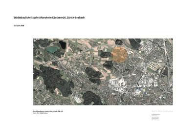 Altersheim Köschenrüti, Affoltern Zürich  Stadt Zürich  Städtebauliche Studie, Hopf & Wirth Architekten Winterthur