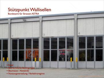 Sanierung / Erweiterung Stützpunkt Wallisellen Bundesamt für Strassen ASTRA Machbarkeitsstudie, Hopf & Wirth Architekten Winterthur