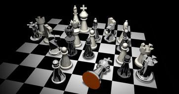 Schachbrett - Schachmatt