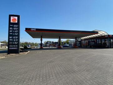 BMÖ-Tankstelle in Stuhr-Brinkum Fahrtrichtung Stuhr Richtung Bremen-Kattenturm (gegenüber des Outletcenters Ochtum Park)