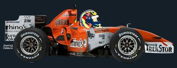 Ernesto Viso by Muneta & Cerracín - Midland M16 Toyota del Spyker MF1 Team