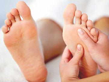 Psychozon Massage, Fussmassage