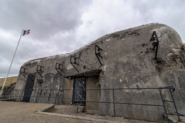 Bloc 2 : entrée du Fort Casso - Ouvrage de la Ligne Maginot.