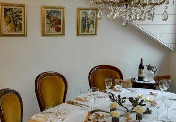 Kathrin's Kulinarium bietet Platz für bis zu 30 Personen für Familienfeste, Apèros und Firmenanlässe