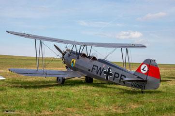 Focke-Wulf Fw.44J Stieglitz - D-EGBR, Baujahr 1940 (Foto: Wolfgang Birmes)