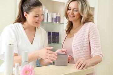 Geschäftskonzepte im Kosmetikinstitut