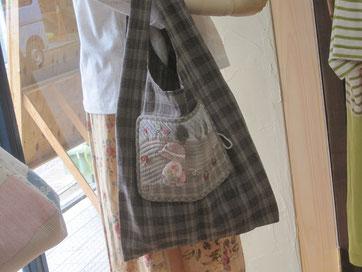新作キット「スーちゃんのショッピングバッグ」の画像です。
