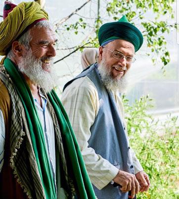 Abdul Shakur Burger links im Bild (rechts Shaykh Muhammed Adil)
