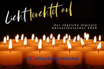 Digitaler Adventskalender Thema - Erlöserkirche München