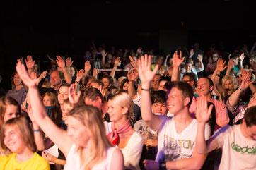 ... und auch das Publikum!