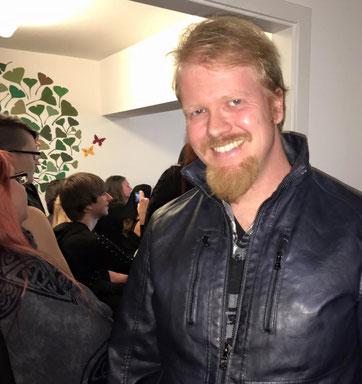 Christian Krumm beim VEID e.V., Foto: Luci van Org