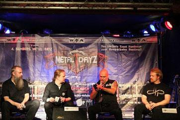 Blaze Bayley, Christoph Lei, Christian Krumm u.a. bei den Metal Dayz in der Hamburger Markthalle