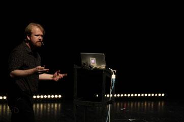 Science Slam Qualifikation zur Deutschen Meisterschaft 2015 im Bochumer Schauspielhaus